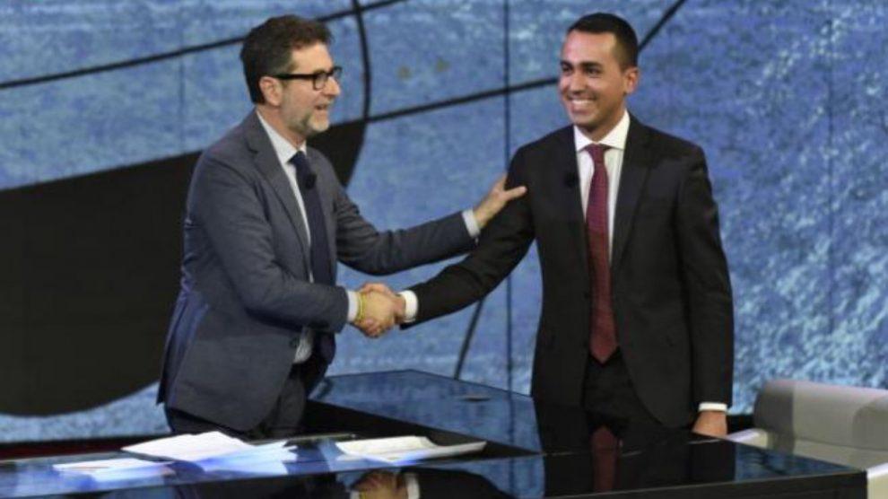 Di Maio all'attacco di Fabio Fazio: