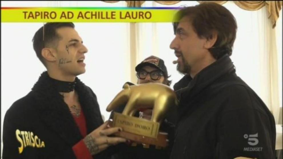 Sanremo, Matteo Salvini è schifato dalla canzone di Achille Lauro