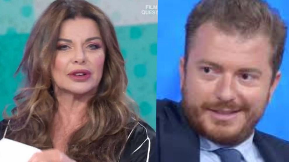 Alba Parietti Daniele Radini Tedeschi Botta E Risposta Furioso