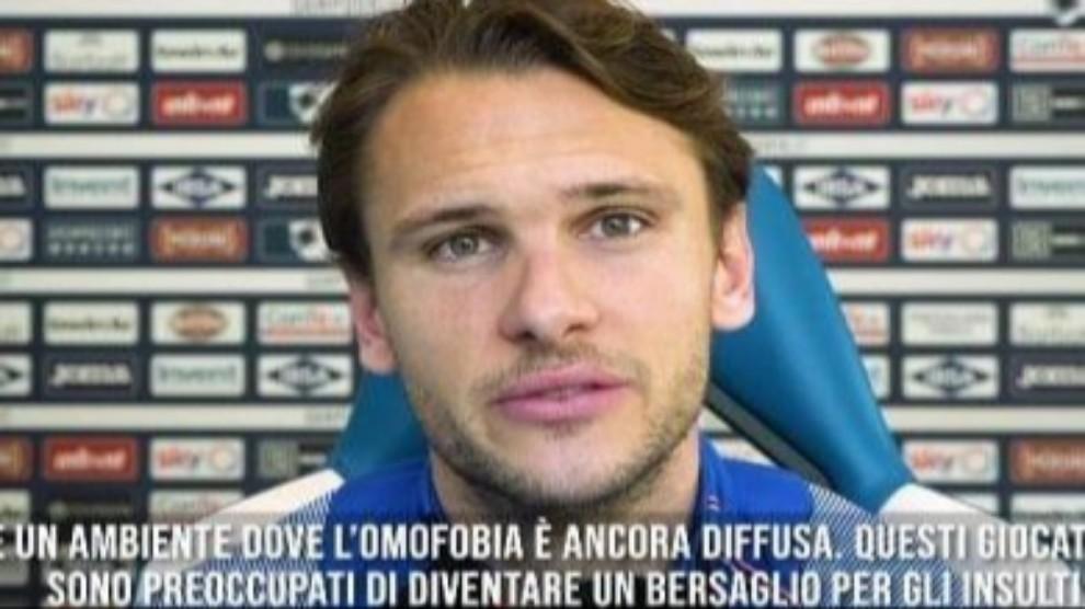 Omofobia nel calcio, Ekdal:
