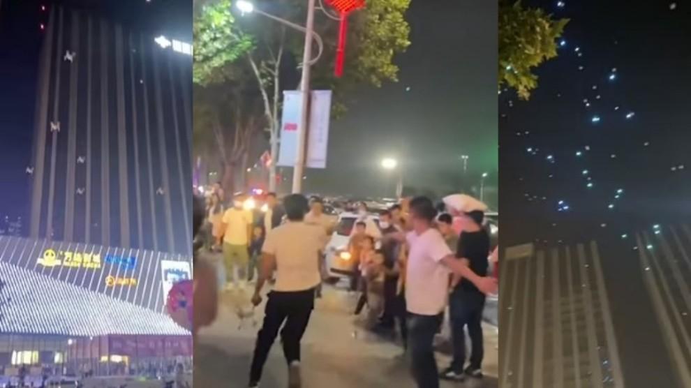 Cina, spettacolo delle luci finisce male: centinaia di droni precipitano sulla folla – VIDEO